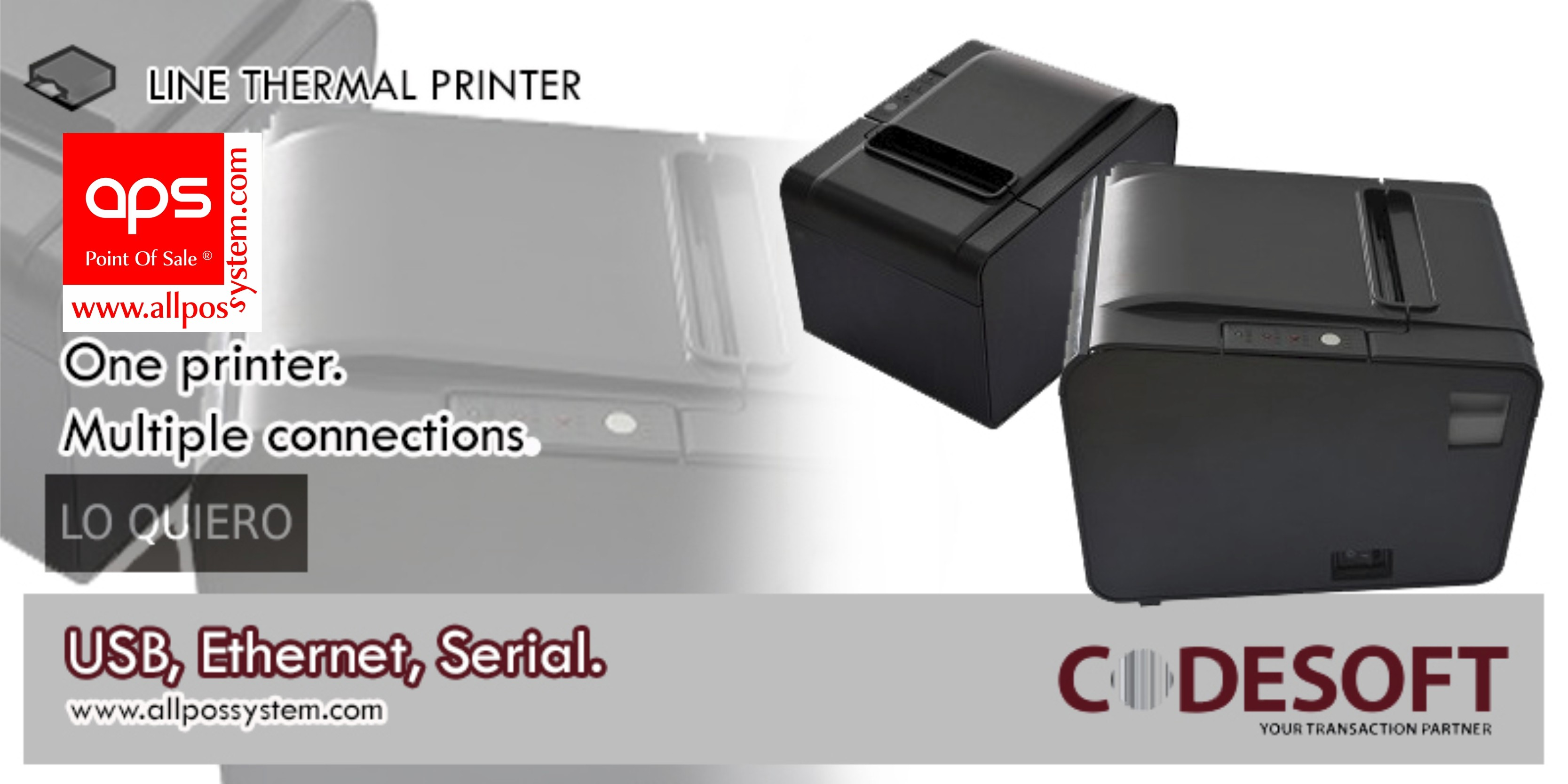 Code Soft Thermal Printer